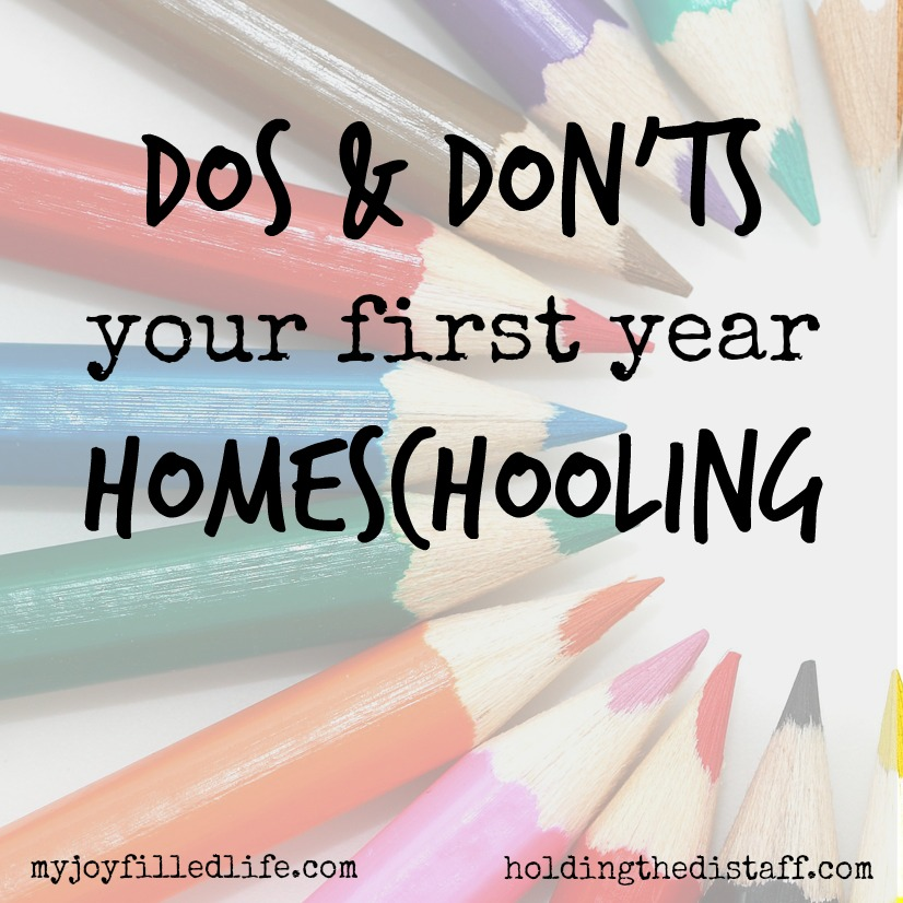Dos and Don'ts Your First Year Homeschooling